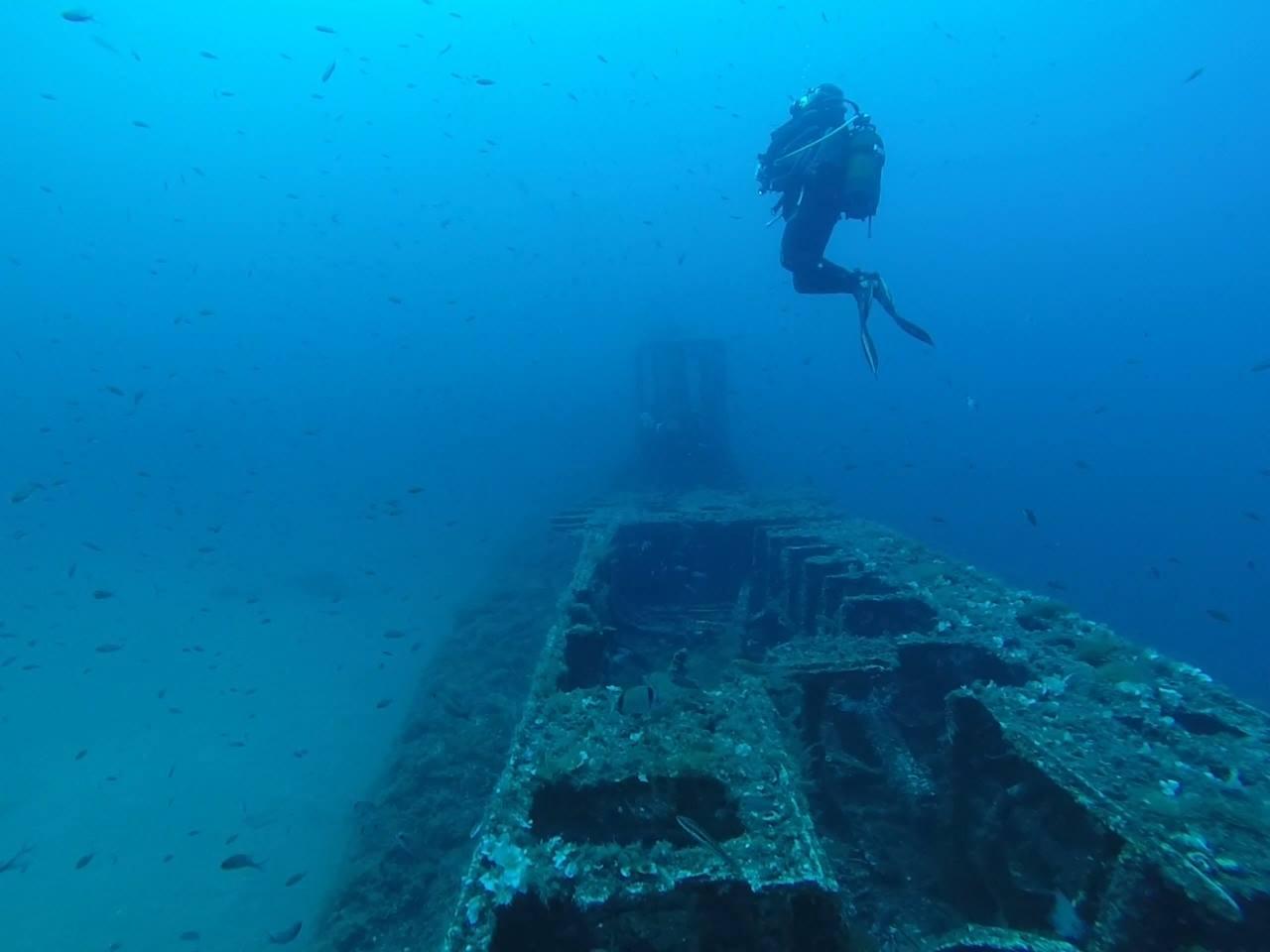 exploration plongée
